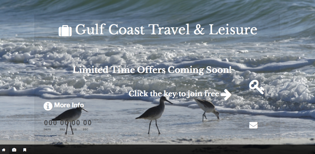 Gulf Coast Travel and Leisure Website