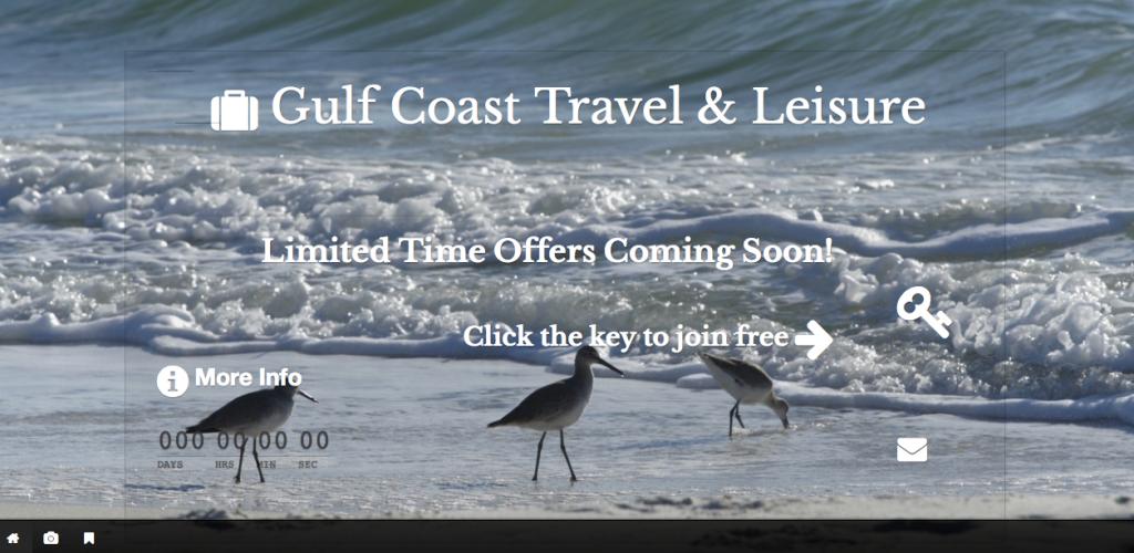 Gulf Coast Travel and Leisure Website
