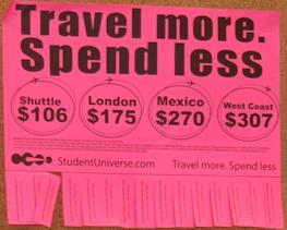 StudentUniverse Poster