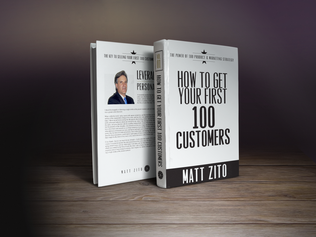 How to get your first 100 customers.